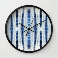 Nori Blue Wall Clock
