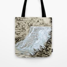 Local Gem # 6 - Ithaca Falls Tote Bag