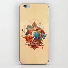 rhinos stone iPhone & iPod Skin