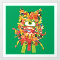 Sweet Monster Art Print