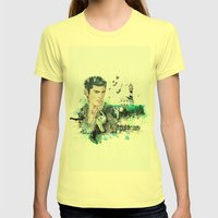 Winter Womens Fitted Tee Lemon SMALL