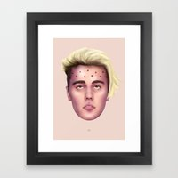 The Apotheosis of JustinBieber Framed Art Print