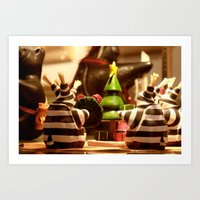 Tis The Season Gathering… Art Print