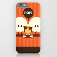 pop art iPhone & iPod Cases featuring Pop! by Steph Dillon