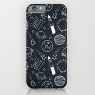 Space Doodles iPhone 6 Slim Case