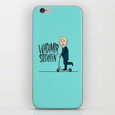 Vlad Scootin iPhone & iPod Skin