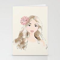 girlie Stationery Cards