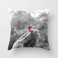 Summer Colours  Throw Pillow