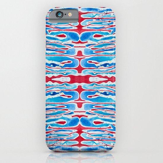drippy stripes iPhone & iPod Case