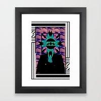 MIND OF A GENIUS.  Framed Art Print