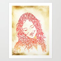 The Muses, No. 5 Art Print