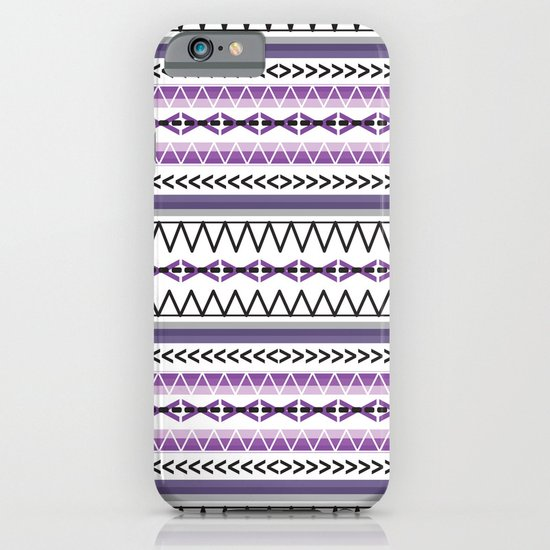 Tribal Purple iPhone & iPod Case