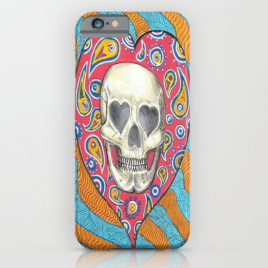 Skulladelia iPhone & iPod Case
