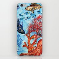 Under the sea iPhone & iPod Skin