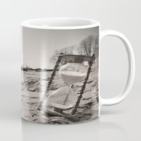 """""""Our memories of the ocean will linger on, long after our footprints in the sand are gone."""" Mug"""