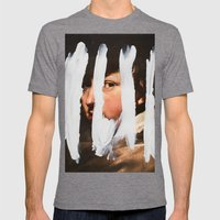 Untitled (Finger Paint 2… Mens Fitted Tee Tri-Grey SMALL
