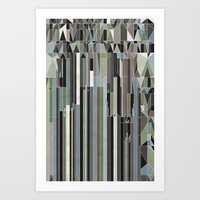 Penthouses and Parks (3) Art Print