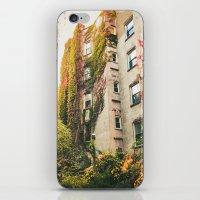 Autumn - New York City - East Village Garden iPhone & iPod Skin