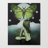 The Great Moth Canvas Print