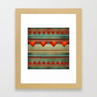 Home For The Holidays Framed Art Print