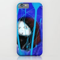 iPhone & iPod Case featuring Danae from the blue by Carlos Una