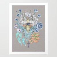 Beetle Art Print