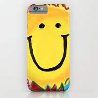 iPhone & iPod Case featuring Smile by Claudia C