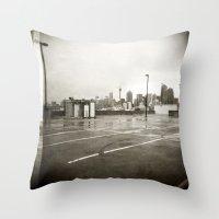 { rain dance } Throw Pillow