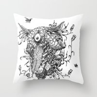 Cycle 1 Throw Pillow