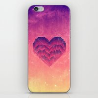 Interstellar Heart III iPhone & iPod Skin