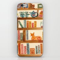 Bookshelf iPhone & iPod Skin