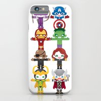 iPhone & iPod Case featuring THE AVENGER'S 'ASSEMBLE' ROBOTICS by We are Robotic