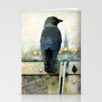 City bird Stationery Cards