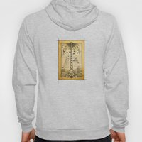 The Sound of Sunshine Pencil Drawing Hoody