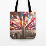 Tote Bag featuring Superstar New York by Bianca Green