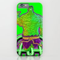 iPhone & iPod Case featuring Incredible Hulk by Artless Arts