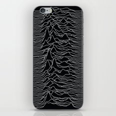 Unknown Radio Waves - Unknown Pleasures iPhone & iPod Skin