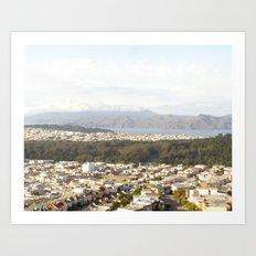 San Francisco I Art Print