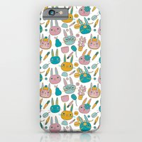 Pattern Project #14 / Bunny Faces iPhone 6 Slim Case