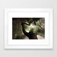 The Strange Trees Framed Art Print