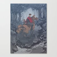 Riot Horse Canvas Print