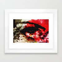 Window Of The Soul - Passion Framed Art Print