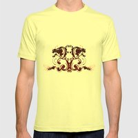 Tattoo Mens Fitted Tee Lemon SMALL