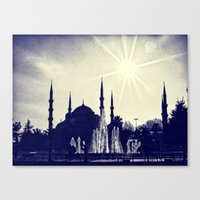 Blue Istanbul Canvas Print