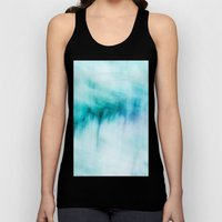 Abstract Waterfall Unisex Tank Top