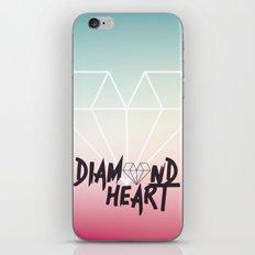 Diamond Heart iPhone & iPod Skin