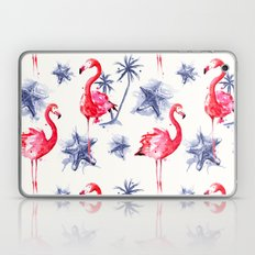 Beach Flamingos Laptop & iPad Skin