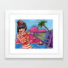 The Sound of Paradise Framed Art Print