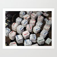 Cards Cards Cards Art Print