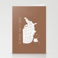 The Hand-Painted Nationa… Stationery Cards